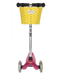 Micro Scoot basket Yellow