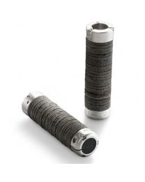 Plump Leather Grips - Black - 130+130mm