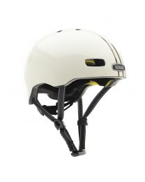 Street Leather Bound Stripe Gloss MIPS Helmet S