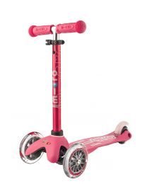 Mini Micro Deluxe 3in1 Pink Push Bar