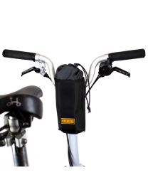 CITY BIKE STEM BAG - BLACK