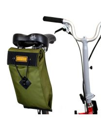 CITY BIKE SADDLE BAG LARGE - OLIVE
