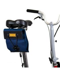 CITY BIKE SADDLE BAG SMALL - NAVY