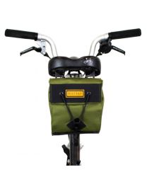 CITY BIKE SADDLE BAG SMALL - OLIVE