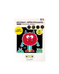 Rainette Reflective Stickers - 1 Monster