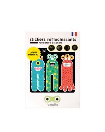 Rainette Reflective Stickers - 3 Monsters