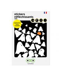 Rainette reflective stickers - BOO