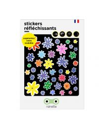 Rainette reflective stickers - FLEURS