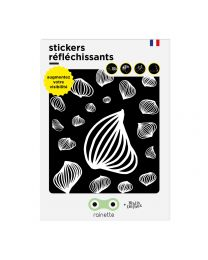 Rainette reflective stickers - MEDUSE