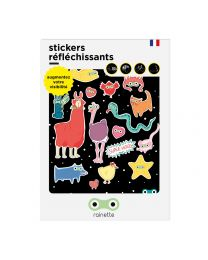 Rainette reflective stickers - SUPER HEROS