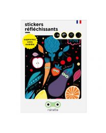 Rainette reflective stickers - VEGAN