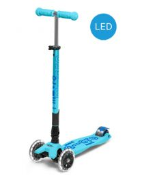 Maxi Micro Deluxe Bright Blue Foldable LED